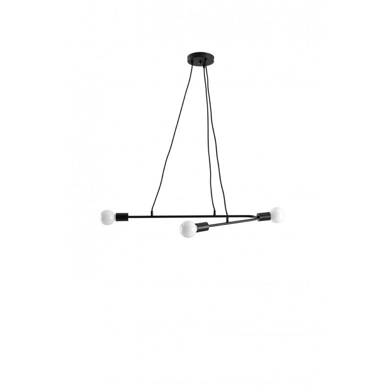 Pakabinamas šviestuvas ASTRAL 3 juodas - 1 - 51,55€