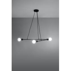Pakabinamas šviestuvas ASTRAL 3 juodas - 3 - 51,55€