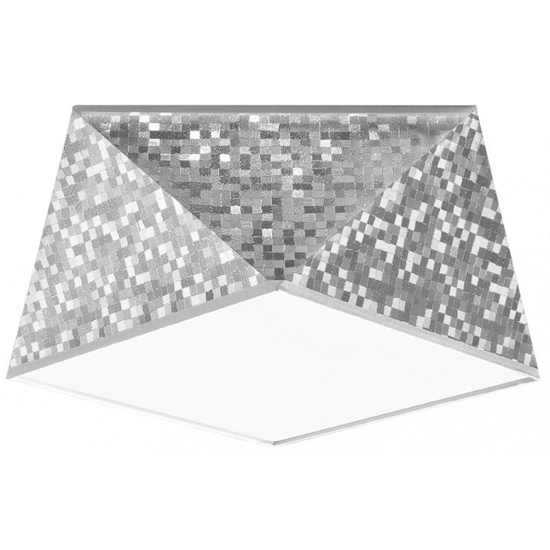 Plafonas HEXA 25 sidabro - 1 - 51,82€
