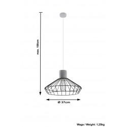 Pakabinamas šviestuvas NELSON - 4 - 52,05€