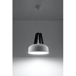Pakabinamas šviestuvas CASCO baltas/juodas - 2 - 54,50€