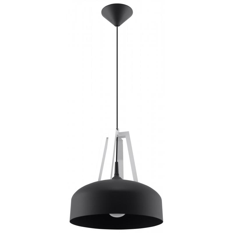 Pakabinamas šviestuvas CASCO juodas/baltas - 1 - 54,50€