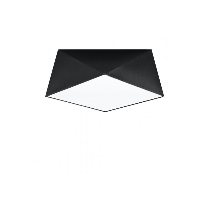 Plafonas HEXA 35 juodas - 1 - 57,80€