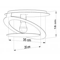 Plafonas NAZARIA KOLO - 4 - 62,34€