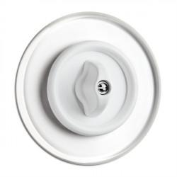 THPG sukamasis duroplasto dvigubas jungiklis su stikliniu rėmeliu