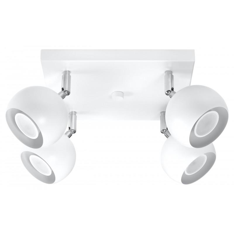 Lubinis šviestuvas OCULARE 4 baltas - 1 - 67,94€