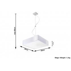Pakabinamas šviestuvas HORUS 35 baltas - 5 - 68,28€