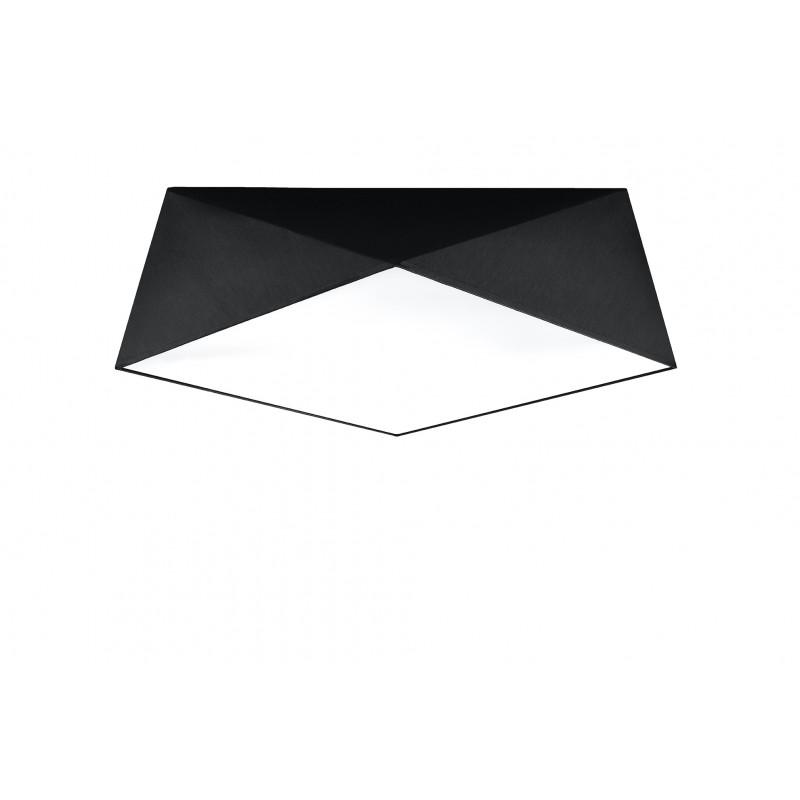 Plafonas HEXA 45 juodas - 1 - 71,74€