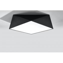 Plafonas HEXA 45 juodas - 4 - 71,74€