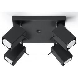 Plafonas MERIDA 4 juodas - 1 - 72,94€