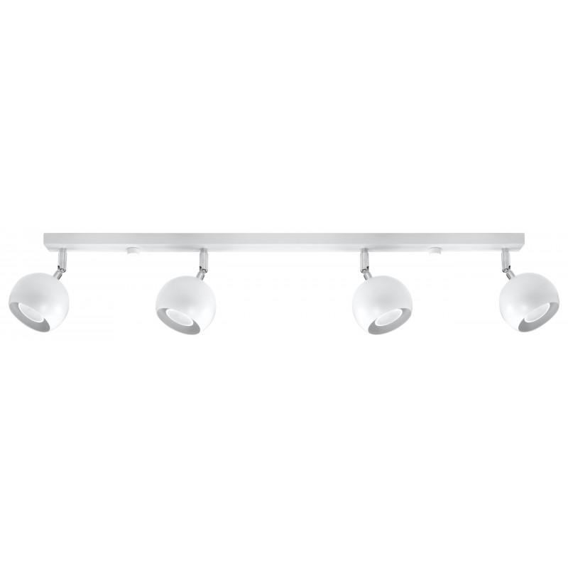 Lubinis šviestuvas OCULARE 4L baltas - 1 - 74,68€