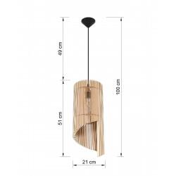 Pakabinamas šviestuvas ALEXIA - 2 - 74,94€