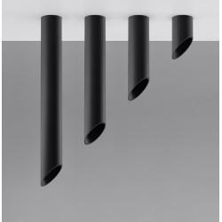 Plafonas PENNE 60 juodas - 4 - 81,40€