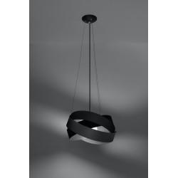 Pakabinamas šviestuvas MOBIUS juodas - 3 - 86,20€