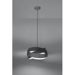 Pakabinamas šviestuvas MOBIUS pilkas - 3 - 86,22€