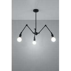 Pakabinamas šviestuvas STARK 3 juodas - 3 - 91,74€