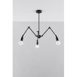 Pakabinamas šviestuvas STARK 3 juodas - 4 - 91,74€