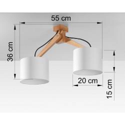 Plafonas LEGNO 2 - 4 - 94,66€