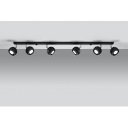 Lubinis šviestuvas OCULARE 6L juodas - 3 - 103,70€