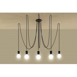 Pakabinamas šviestuvas EDISON 5 juodas - 3 - 104,18€