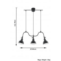 Lubinis šviestuvas MARE 3 - 4 - 115,02€