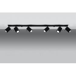 Lubinis šviestuvas MERIDA 6L juodas - 3 - 126,54€