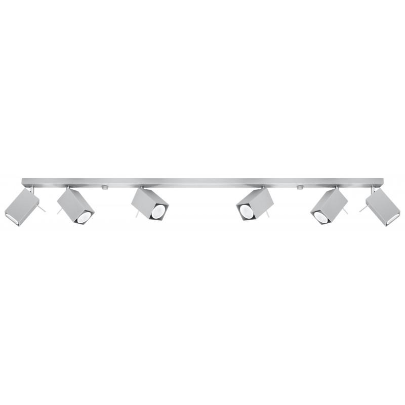 Lubinis šviestuvas MERIDA 6L pilkas - 1 - 126,54€