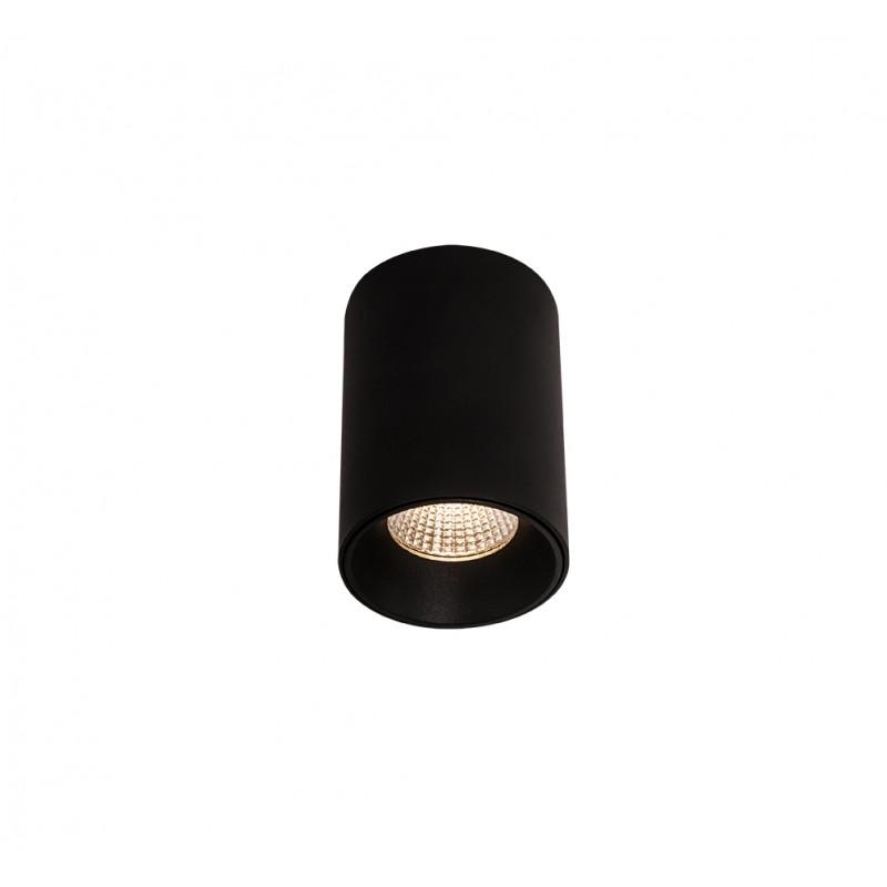 Lubinis šviestuvas CHIP juodas 3000K 8W - 1 - 28,14€