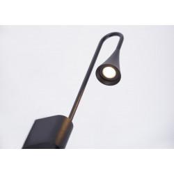 Sieninis šviestuvas COMET juodas, 3W LED, IP54 - 2 - 132,33€