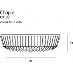 Plafonas CHOPIN Ø 80 cm - 5 - 858,11€