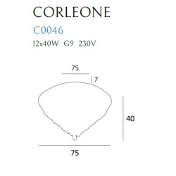 Plafonas CORLEONE 75 cm - 2 - 927,88€