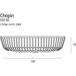 Plafonas CHOPIN Ø 100 cm - 5 - 1271,13€