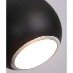 Pakabinamas šviestuvas DROP juodas - 3 - 109,76€