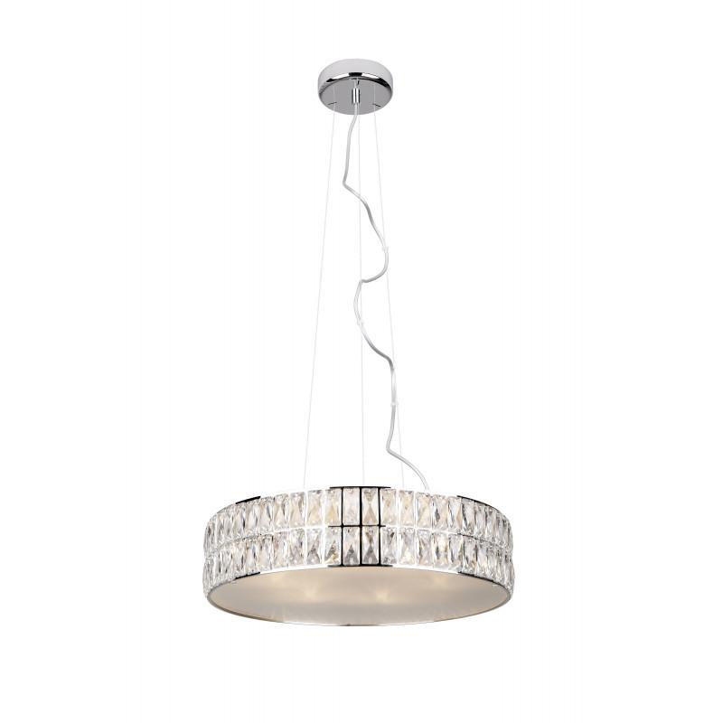 Pakabinamas šviestuvas DIAMANTE didelis 46 cm - 1 - 321,16€
