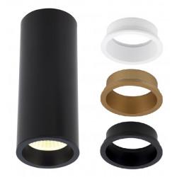 Lubinis šviestuvas LONG juodas 7W - 5 - 36,51€
