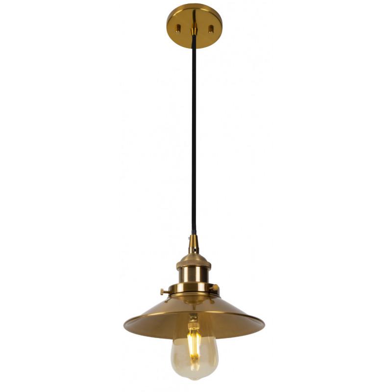 Pakabinamas šviestuvas HAGA žalvario spalvos - 1 - 78,60€