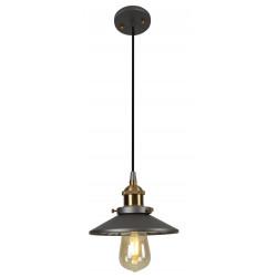 Pakabinamas šviestuvas HAGA žalvario su juoda - 1 - 78,60€
