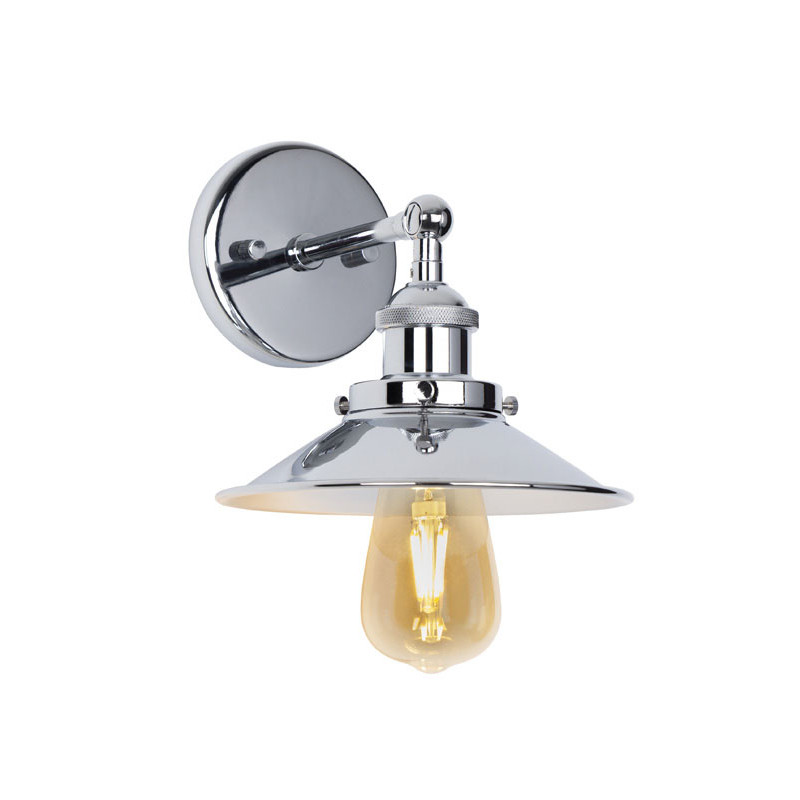 Sieninis šviestuvas HAGA CHROM - 1 - 78,60€