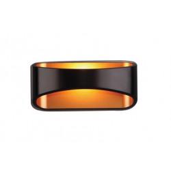 Sieninis šviestuvas HUGO juodas - 1 - 90,69€