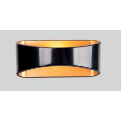 Sieninis šviestuvas HUGO juodas - 2 - 90,69€