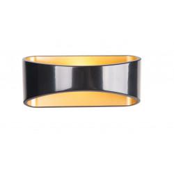 Sieninis šviestuvas HUGO juodas - 3 - 90,69€