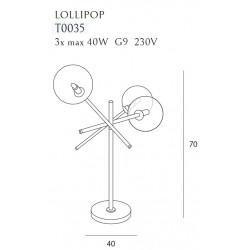 Stalinė lempa LOLLIPOP - 4 - 117,44€