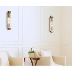 Sieninis šviestuvas FLORENCE žalvario - 3 - 158,59€