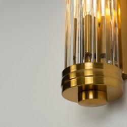 Sieninis šviestuvas FLORENCE žalvario - 4 - 158,59€