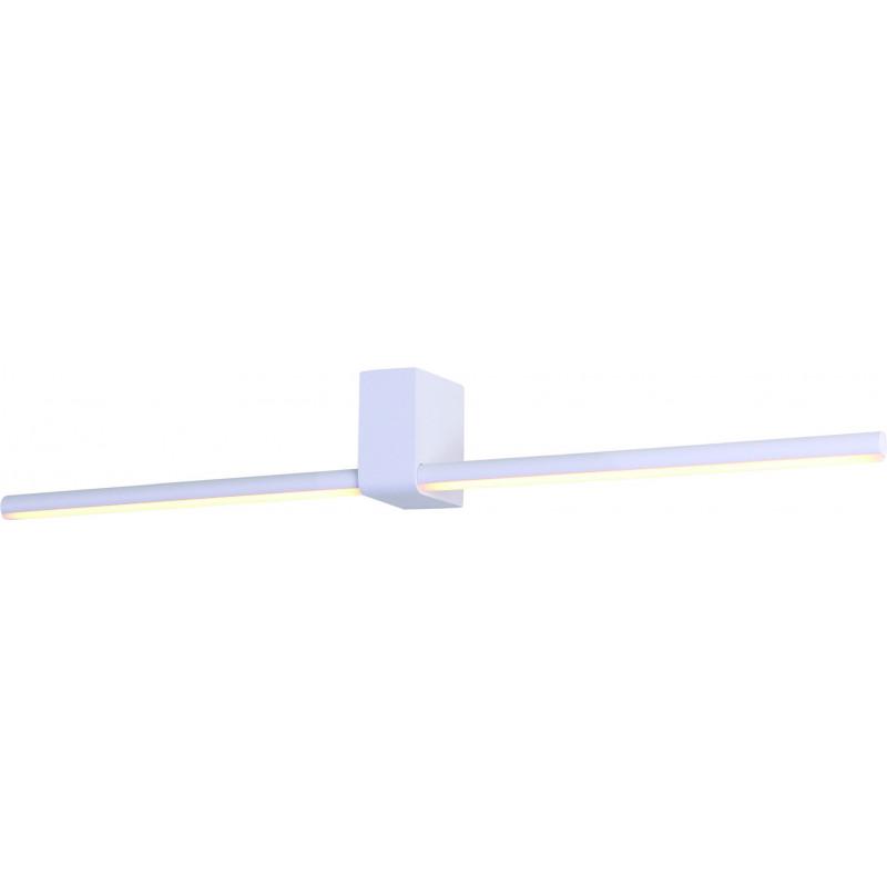 Sieninis šviestuvas FINGER ROUND 60 cm baltas  IP54 - 1 - 165,12€
