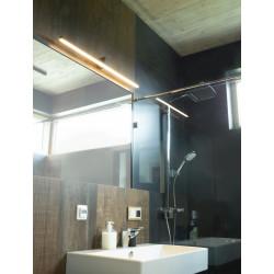 Sieninis šviestuvas FINGER 60 cm juodas  IP54 - 2 - 168,83€