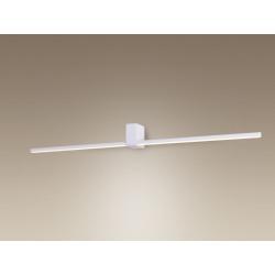 Sieninis šviestuvas FINGER ROUND 90 cm baltas IP54 - 2 - 185,35€
