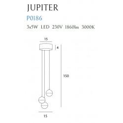Pakabinamas šviestuvas JUPITER III - 5 - 229,30€