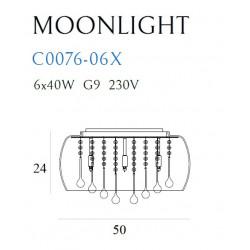 Plafonas MOONLIGHT - 2 - 249,30€