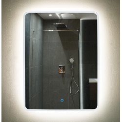 Apšviestas veidrodis 60x80cm - 2 - 388,13€